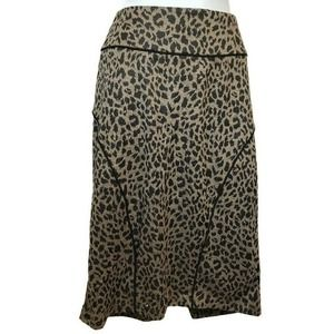 Forever 21 Leopard Print Wiggle Skirt Plus Size 1X